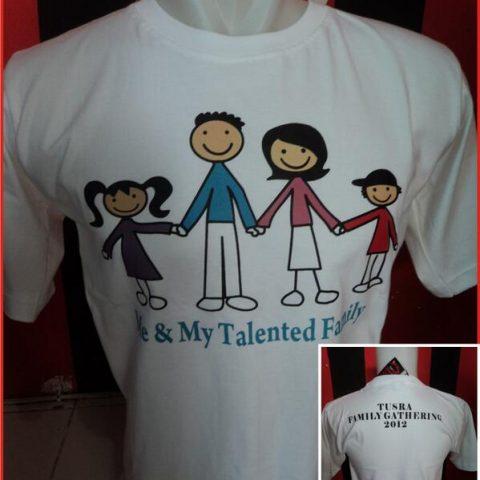 T-SHIRT Tusra Family Gathering 2012